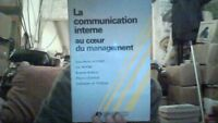 La Communication interne au coeur du management de Auvinet | Livre | d'occasion