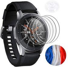 Lot 4 Protection Écran Galaxy Watch 46mm Smartwatch Verre Trempé Film Montre