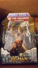 MOTU Classics 1st Print He Man Figure Ship Worldwide NEW RARE