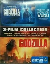 Brand New Godzilla on Blu Ray + King of Monsters on Vudu Sealed Collection