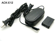 AC Adapter Power Charger For Canon EOS M M2 W M10 M50 M100 DS126391 DS126471