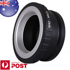 M42 Screw Lens to Micro 4/3 Four Thirds m 4/3 Mount QUALITY Adapter ring - Z0487