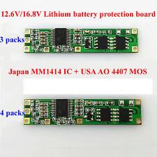 BMS protección placa PCB para 3-4 packs 18650 Li ion de la batería de litio