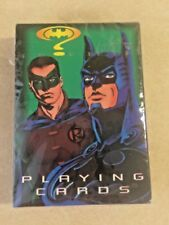 Batman Forever Playing Cards 1994 New in Sealed Package Two Face, Riddler, and R