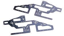 EXI Metal Main Frame Sides for 450 RC Helicopter Align Trex T-Rex 450 SE V2 part