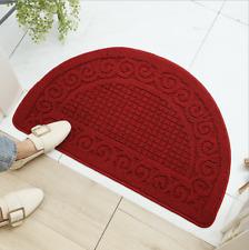 Classic Half Round Door Mat Entrance Entryway Rug Floor Mats Non Slip Doormat