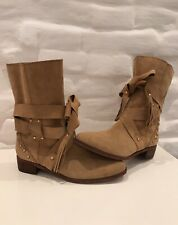 See By Chloe Women's Boots Brown Leather Size 39,5(US9)!