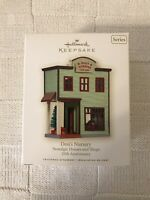 2008 Hallmark DON'S NURSERY Nostalgic Houses & Shops Christmas Ornament 25th