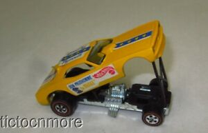VINTAGE HOT WHEELS REDLINES DON PRUDHOMME the SNAKE FUNNY CAR PLYMOUTH 1969