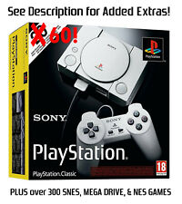 4 in 1 Classic Mini Console – PlayStation + SNES + NES + Mega Drive!