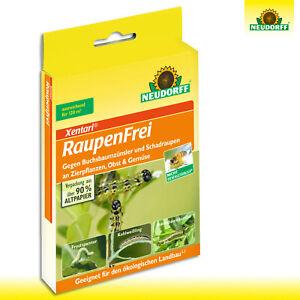 Neudorff Xentari 1 Pack 2 x 3 g Raupenfrei Buchsbaumzünsler Frostspanner Buxus