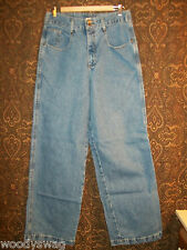County Seat Jeanswear Jeans pre owned Size 13/14 R 100% Cotton Inseam 32
