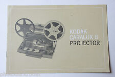 Kodak Caralux 8 Projector Instruction Owners Manual Guide Book - USED B54