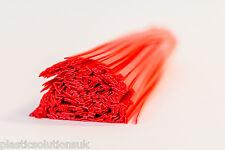 BARRE di saldatura plastica HDPE (6mm) Rosso 20 PC/piatto Strisce/POLIETILENE GAS