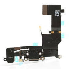 Flat Cable Flex For Apple IPHONE 5S - Connector By Charger Black Dock