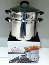 Brand New Stainless Steel 2pc Pasta Pot Set 24cm