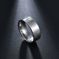 Cat Lady Ring Stainless Steel Spinner Band Silver Pet Rescue Free Shipping