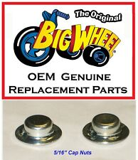 Replacement Pair of Cap Nuts for the The Original Big Wheel Trike
