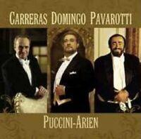 "DOMINGO/CARRERAS/PAVAROTTI"" PUCCINI ARIEN"" CD NEU"