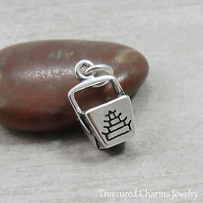925 Sterling Silver Chinese Takeout Food Charm Pendant