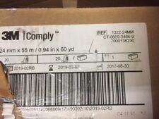 (Case of 20) 1322-24MM Indicator Tape 3M Comply 0.94 Inch X 60 Yards Steam (NEW)