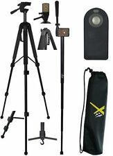 "68""  HEAVY DUTY  TRIPOD + 70"" MONOPOD + REMOTE FOR CANON EOS REBEL T5 T6 T3 T1"
