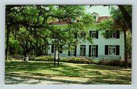 Jekyll Island GA, Goodyear Cottage, Garden Club, Chrome Georgia Postcard