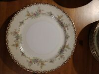 Royal Embassy China Saratoga Four 7 Piece Place settings Plus 7 Serving Pieces