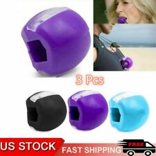 3x Jaw line Exerciser Top Jawzrsize Exercise Fitness Ball Neck Face Toning Jaw