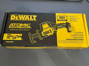 DeWalt DCS369B ATOMIC 20V MAX Li-Ion Reciprocating Saw (Tool Only) New