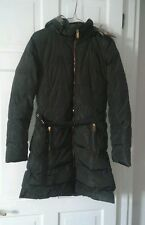 Atmosphere women army green winter hood jacket size 6