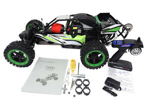 1/5 Rovan 290Q Gas Q-Baja Shorty Mini Buggy RTR 29cc HPI Baja 5B SS Compatible