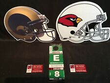 Arizona Cardinals vs Los Angeles Rams 12/1 Green E East Lot Parking Pass Tickets
