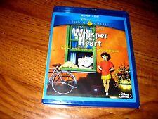 Whisper of the Heart: Disney; Studio Ghibli (Blu-Ray/DVD, 2012] NEW+ I Ship Fast