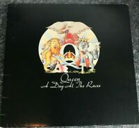 QUEEN - A DAY AT THE RACES LP VINYL Original 1976 UK 1st Press Album & Inner