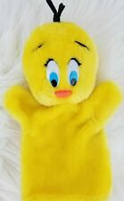 VINTAGE 1971 WARNER BROTHER Collectable Yellow Tweety Pie Hand Puppet