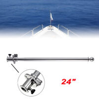 Flag Staff for Boat Stainless 610 mm long