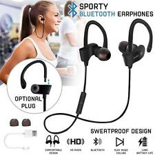 Wireless Earphones Bluetooth Headphones Sweatproof Sport Gym For iPhone Samsung
