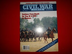MAY 1989 Civil War Times Illustrated STONEWALL JACKSON'S DEATH STUNS THE SOUTH