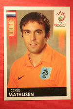 Panini EURO 2008 N. 263 MATHIJSEN NEDERLAND NEW With BLACK BACK TOPMINT !!!