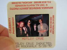 More details for original press photo slide negative - motley crue - 1997 - e