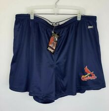 VTG Bike Brand Men MLB STL Cardinals Athletic Coach Shorts, Size 3XL 46-50 New!