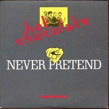 HOT CHOCOLATE - NEVER PRETEND - CARDBOARD SLEEVE CD MAXI