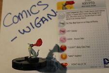 DC HeroClix Superman/Wonder Woman#050 krypto super rare