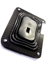 """Universal Hurst Style CARBON FIBER Shifter Boot COVER only 5 1/4"""" X 6 1/2"""""""