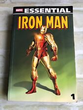 Marvel Essential - IRON MAN 1 - Tales Of Suspense #39-72 ~ VOL 1 Softcover Book