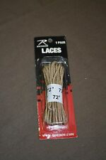 New Rothco Desert tan shoes bootlaces lenght 72 inches (#bte147)