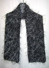 New Handmade Knitted Black Flutter Fashion Scarf