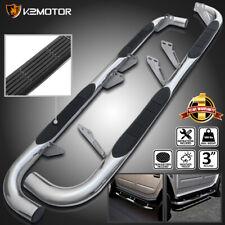 For 2003-2010 Hummer H2 Chrome Stainless Steel Running Boards Side Step Nerf Bar (Fits: Hummer)
