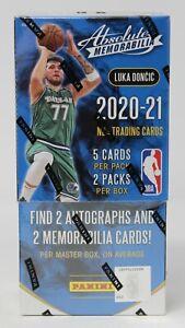 2020/21 Panini Absolute Memorabilia Factory Sealed Basketball Hobby Box